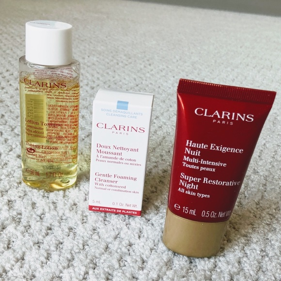 Clarins Other - Clarins Travel Size Set of 3